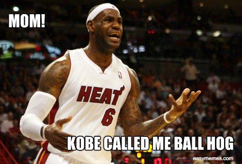40101 Kobe Ball Hog Thj4 Jpeg 500 338 Basketball Funny Kobe