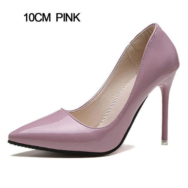 Pointed Classic High Heels in 7 and 10 cm  0f7d434ac2b0