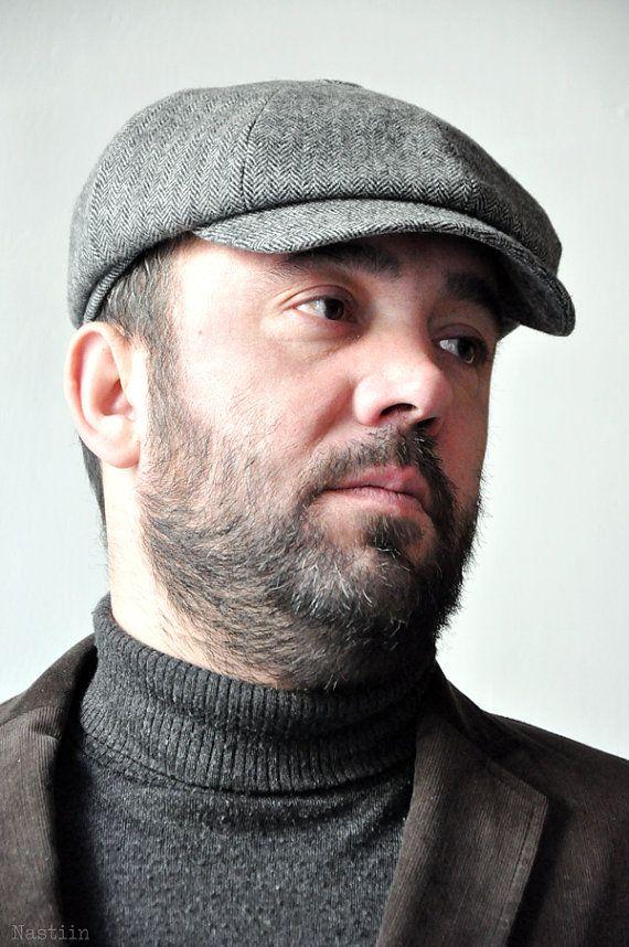 Charcoal hat Wool hat mens Newsboy cap Womens newsboy hat Newspaper ... 4ef5496d0bd3