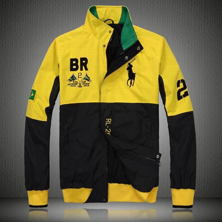 Ralph Lauren Mens Flag Polo Jacket - Brazil $97.59