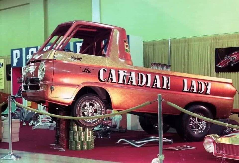 Canadian Lady, Dodge A100 wheelstander Hot wheels