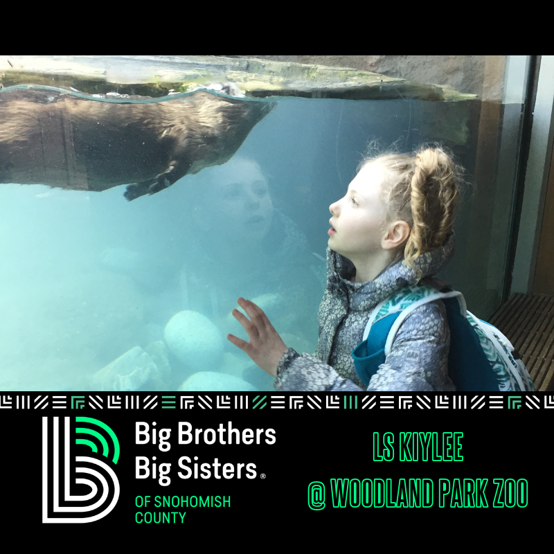 Thank You Woodland Park Zoo For Donating Tickets Little Sister Kiylee Had An Amazing Time With The Otters Big Brother Big Sister Big Sister Woodland Park Zoo