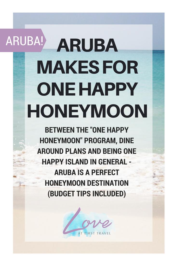 aruba // one happy honeymoon // aruba budget // aruba all inclusive