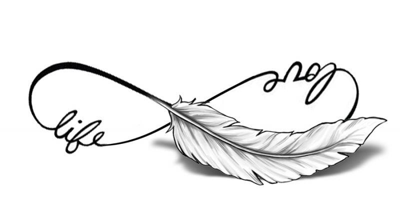 Love Life Veertje Met Schaduw Anita Pinterest Tattoo Tattoo