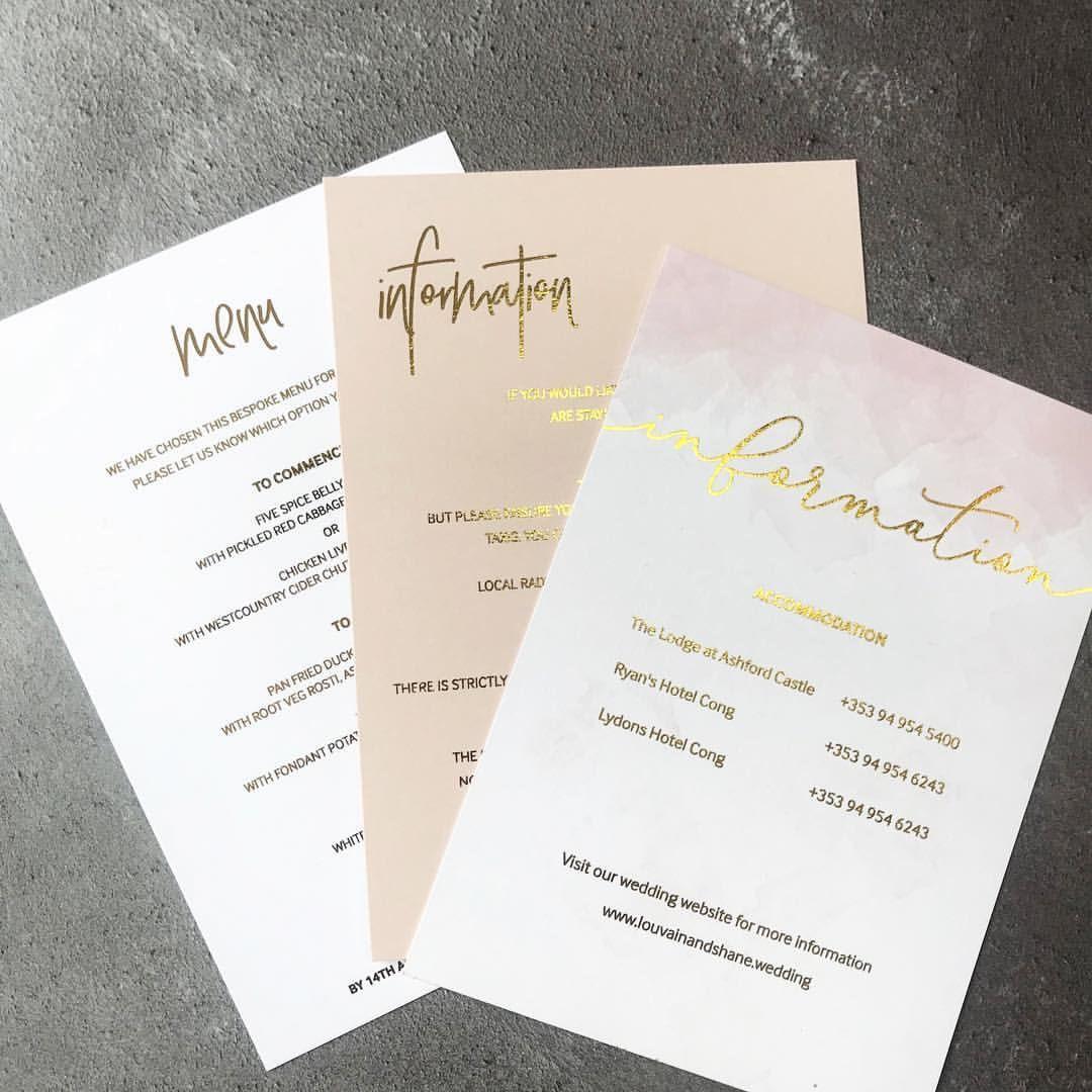 Ashford Castle Wedding: D E T A I L S ️ (With Images)