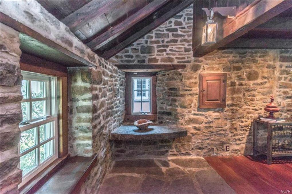 1115 Strawntown Rd Haycock Township Pa 18951 Stone Houses