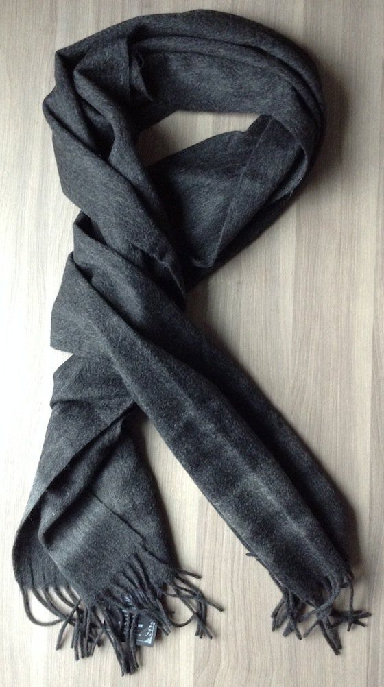 Bespoke Post Review & Coupon – October 2014 Scarf Gilded Age Mongolian Wool Scarf - Value $125