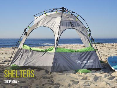 Lightspeed Outdoors - Beach Tent Sun Shelter & Lightspeed Outdoors - Beach Tent Sun Shelter | Beach Gear ...