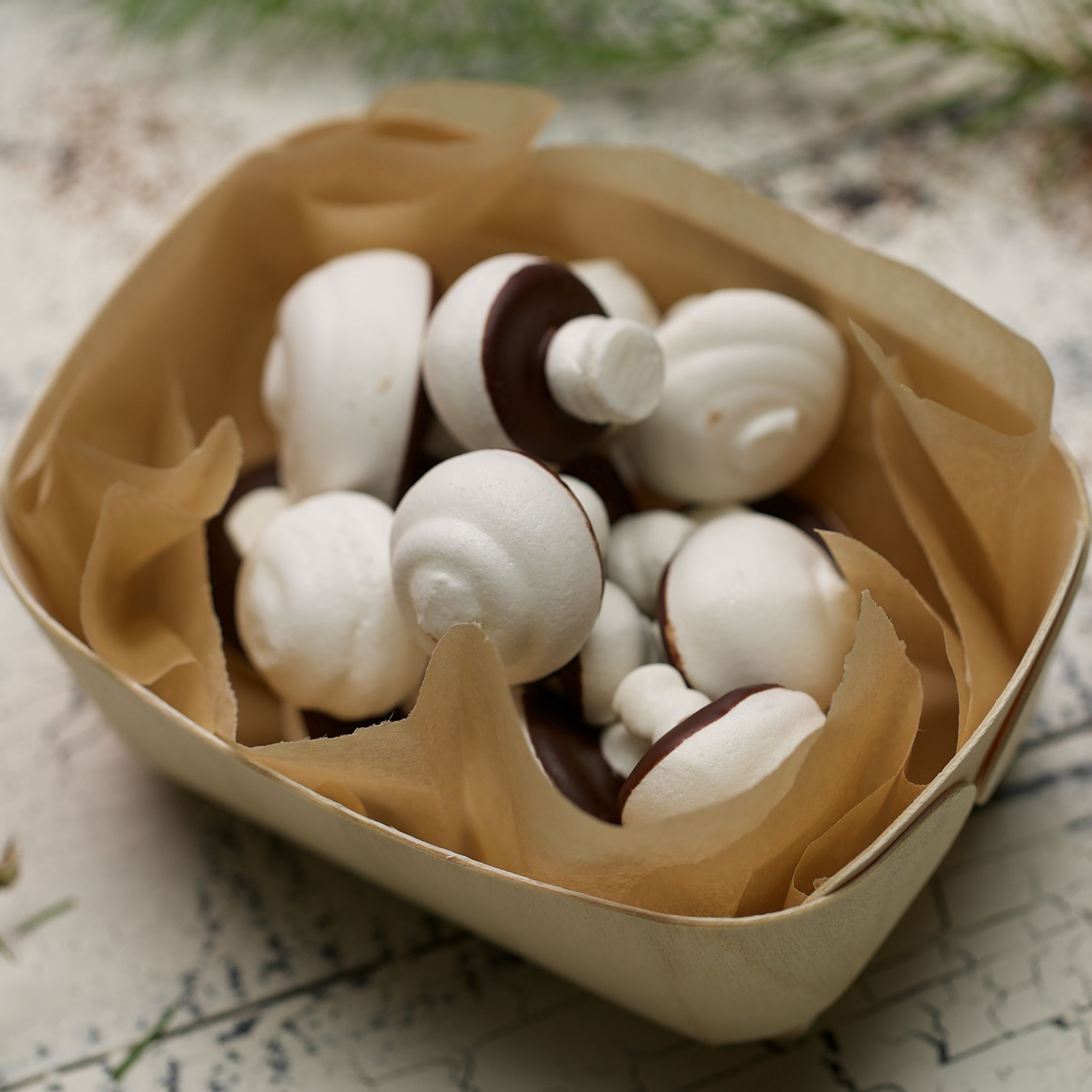 Photo of Mushroom Meringues