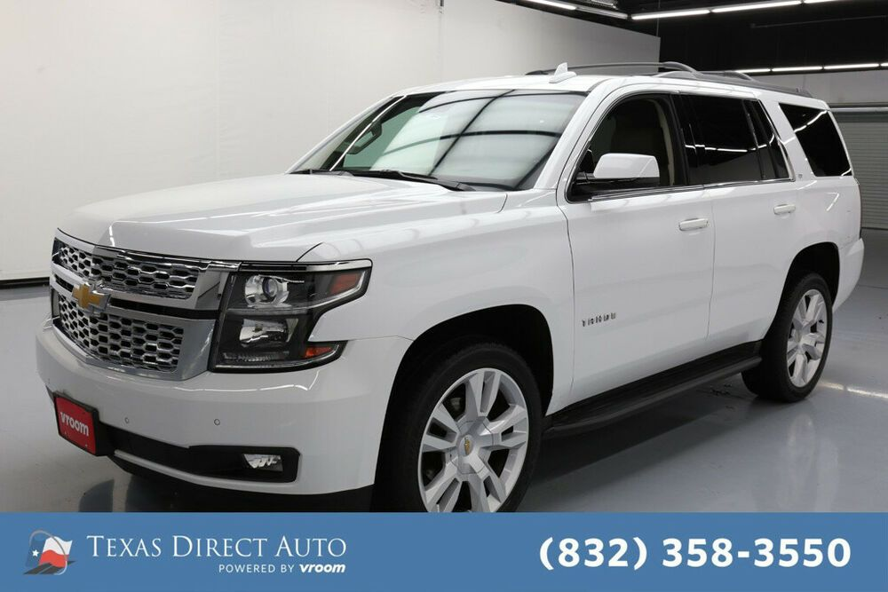 For Sale 2016 Chevrolet Tahoe LT Texas Direct Auto 2016