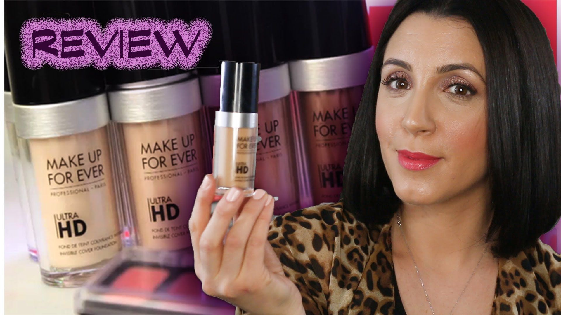 Makeup Forever Ultra HD Foundation Review Makeup