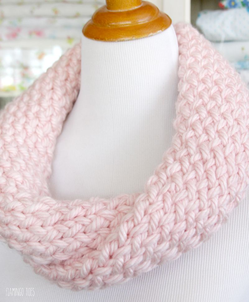 Cute and Easy Knitting Loom Cowl - | Knitting | Pinterest | Loom ...