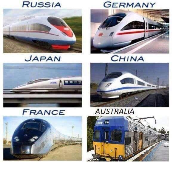 Trains around the world Aussie Aussie Aussie! Pinterest - return to work note