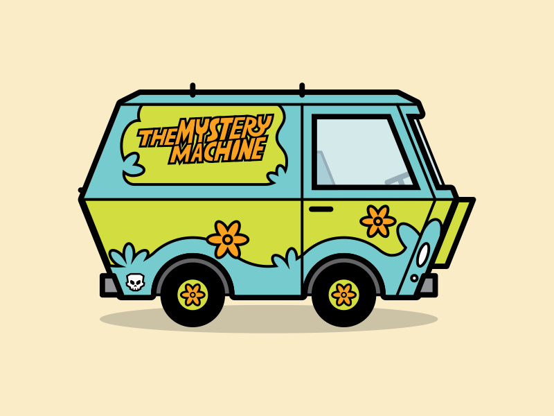 The Mystery Machine Mystery Machine Design Best Icons