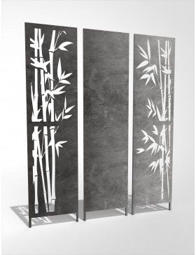 3er Set Sichtschutzwand Bambus Sichtschutzwände