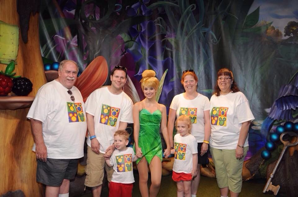 Matching Disney shirts