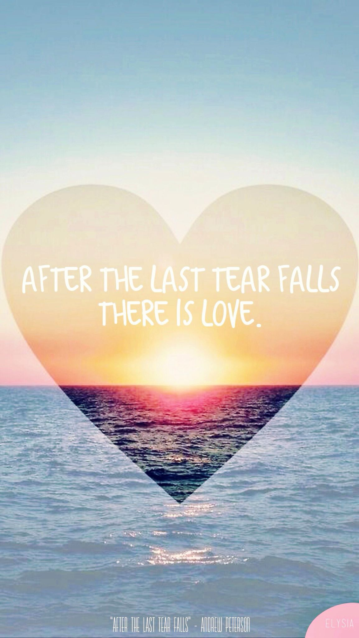 After the last tear falls there is love... And in the end, the end is  oceans and oceans of love and love again We… | Ocean quotes, Special words,  Praise and worship