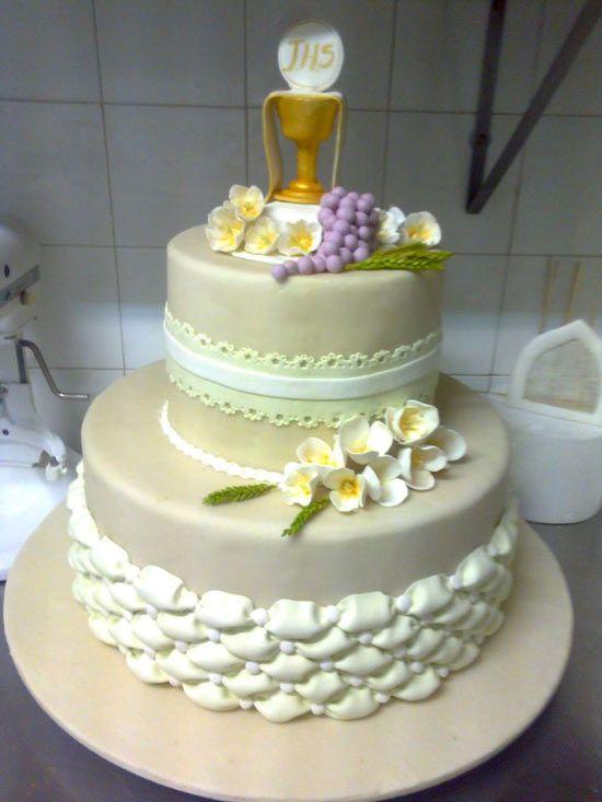 Bien connu Pin di Sloppina In cucina su Torte per la Prima Comunione  RZ85