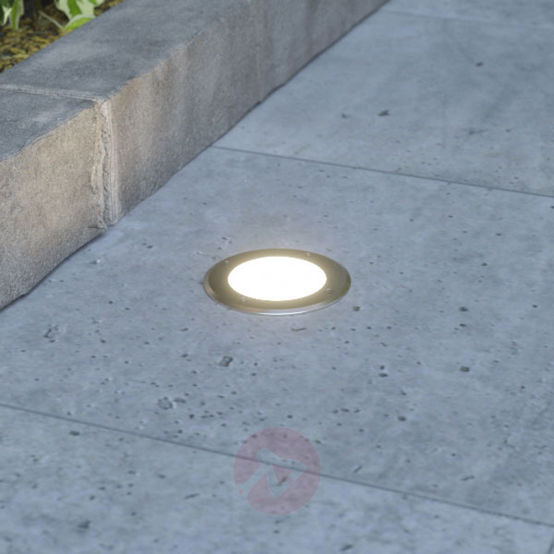 Led Recessed Floor Light Doris Stainless Steel Floor Lights