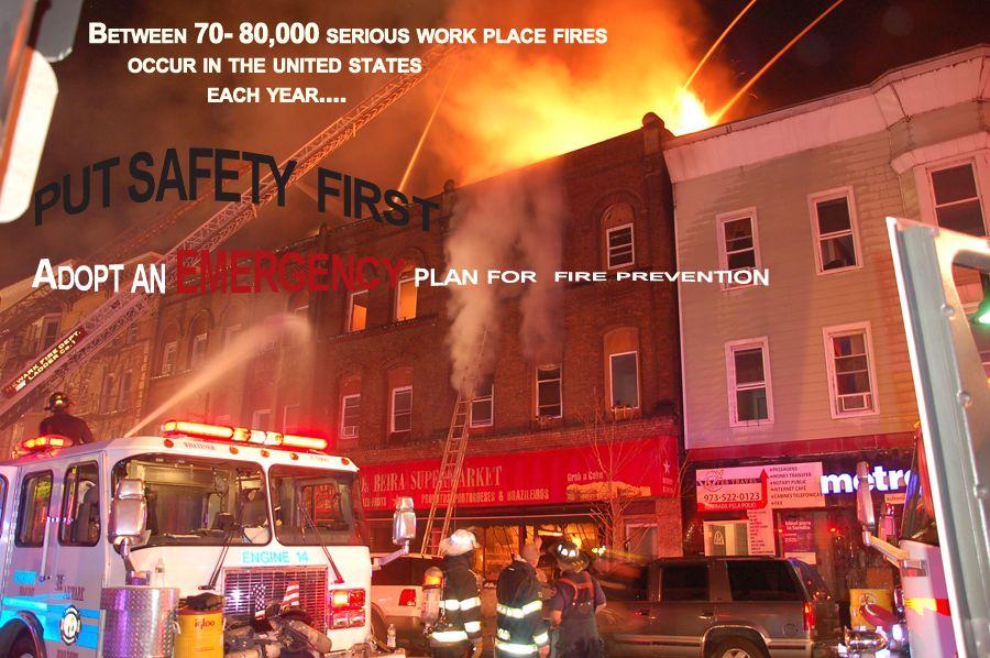Adopt an Emergency Plan Newark, Volunteer firefighter