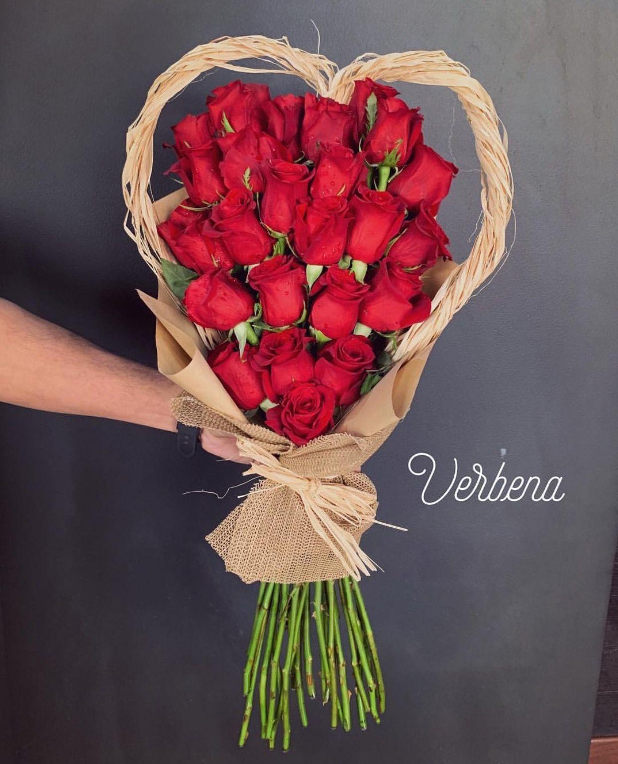 Raffia Red Rose Heart Red Roses Raffia Grapevine Wreath