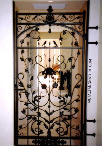 Custom Wrought Iron Doors Windows Tampa Fl Metals Nature