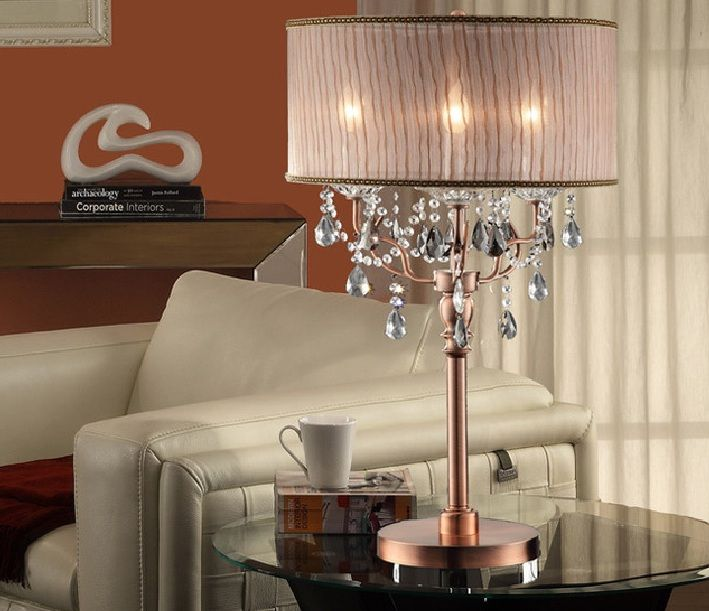 Tall table lamps for living room - tall crystal table lamps ...