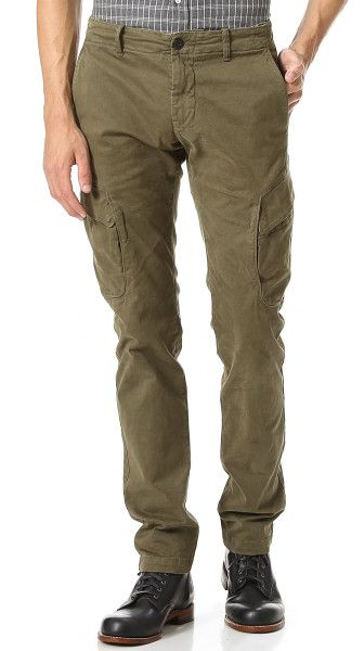 differently new arrive recognized brands Men's Green Skinny Cargo Pants | pour Homme | Skinny cargo ...