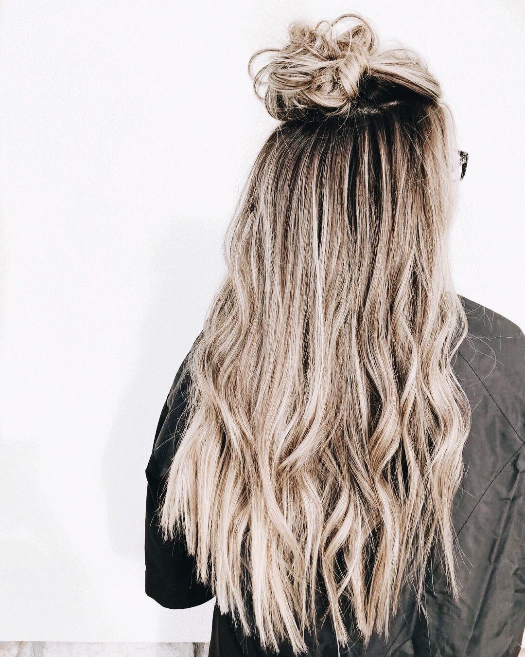 ♕ insta and pinterest @amymckeown5 | hair in 2019 | hair