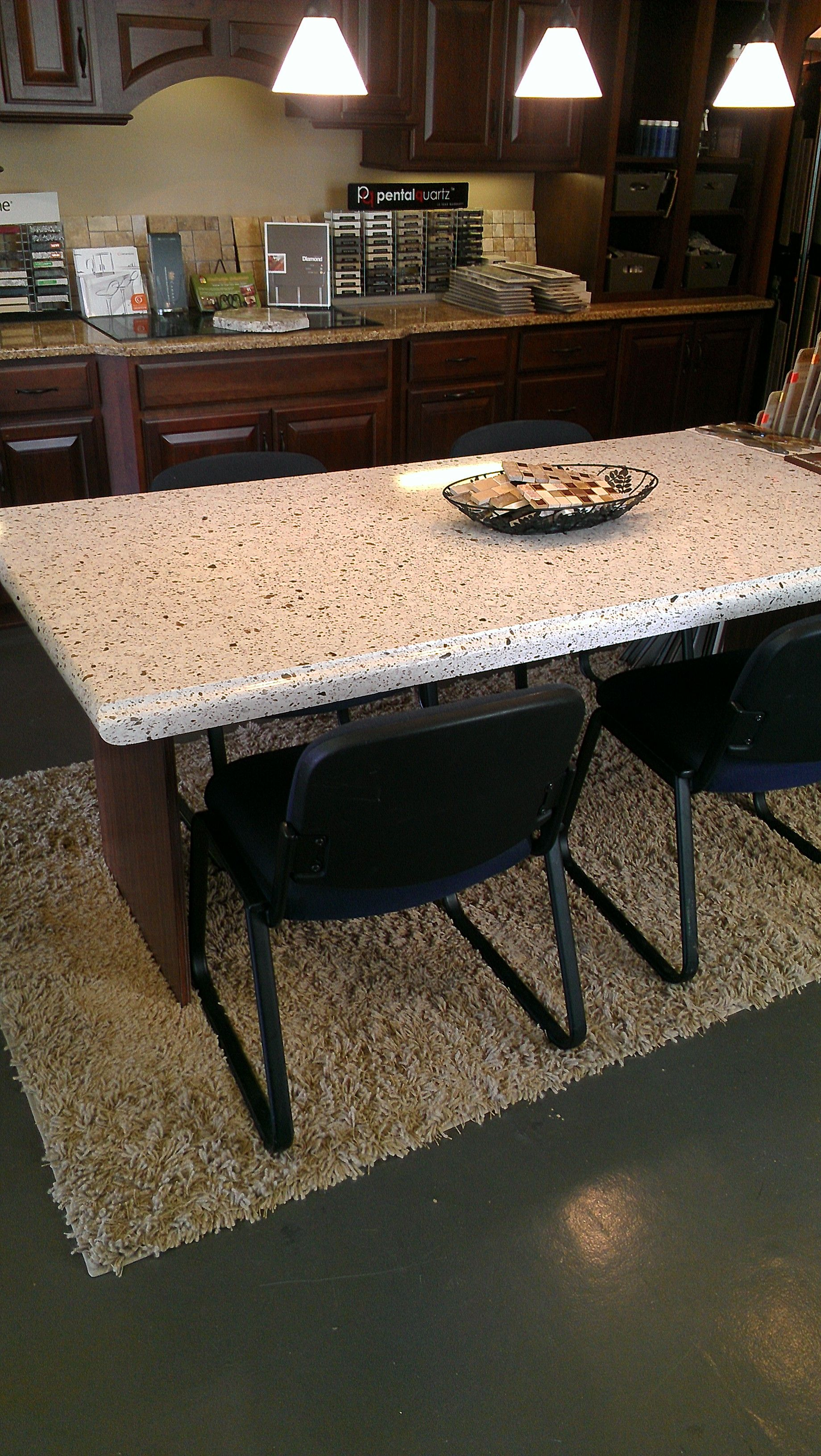 Our New Silestone Table Top Laminated