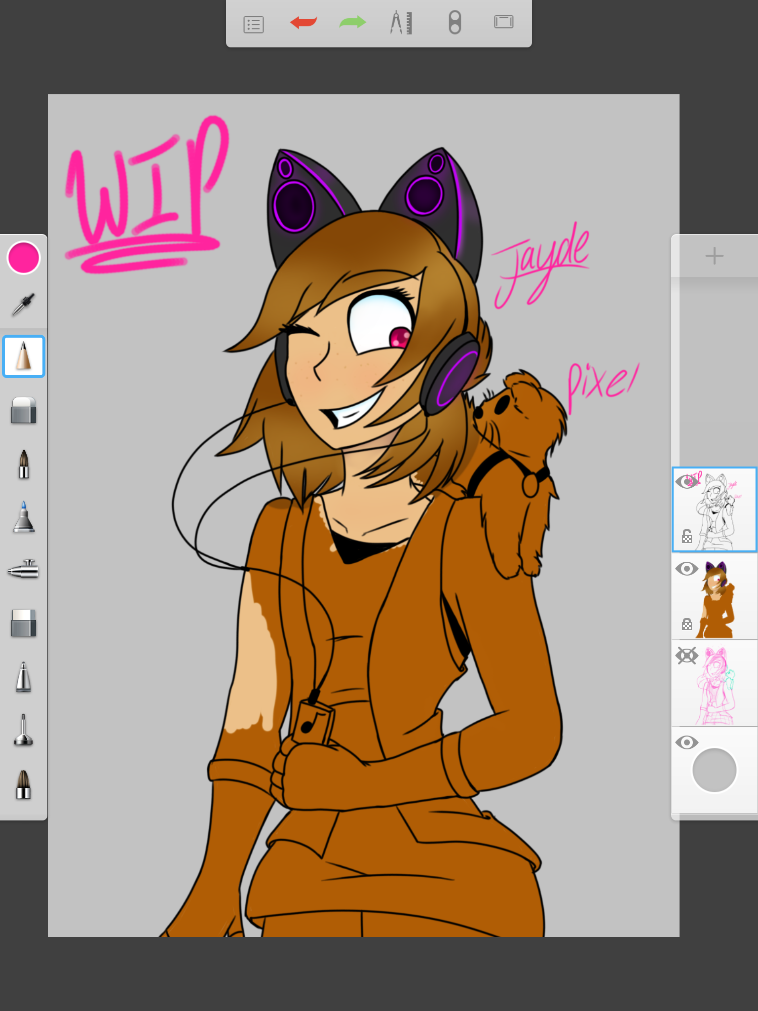 lizandfandoms] I'm almost done with the drawing, I didn't