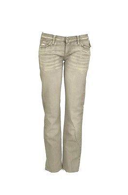 Tsubi Scooter W2010 Straight Leg Womens Jeans Worn Gray Size 27