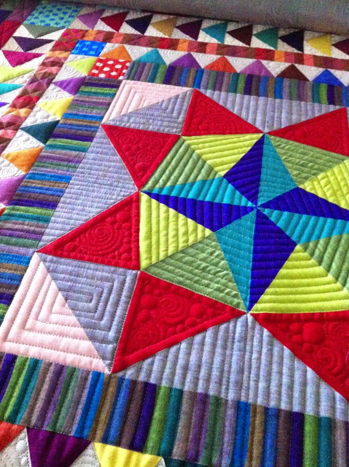Krista Withers Quilting: The lure of the Medallion | Quilting ... : patchwork quilt meaning - Adamdwight.com