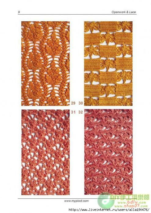 Beautiful and unusual crochet patterns with a diagram ...