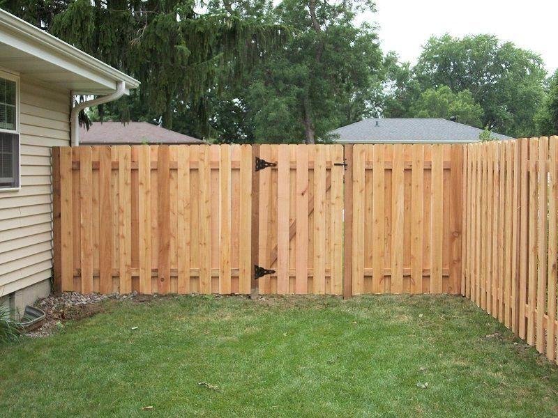Pin On Cedar Fence