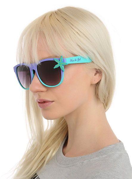 Disney The Little Mermaid Kiss The Girl Retro Sunglasses   Hot Topic