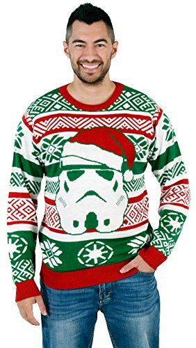 Star Wars Santa Stormtrooper Ugly Christmas Sweater The Best Ugly