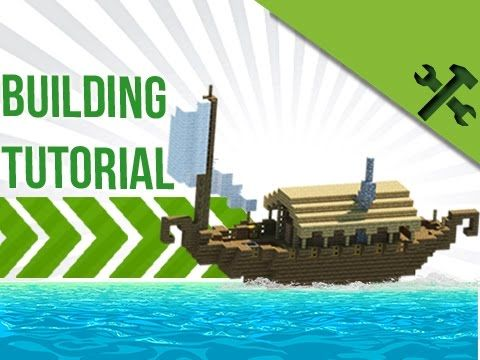 Simply Boat House Build Tutorial By Jeracraft Minecraft Ships