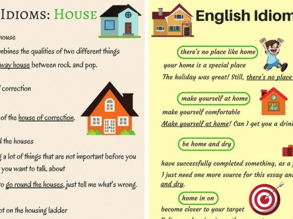 Common Idioms About The House And Home In English Eslbuzz