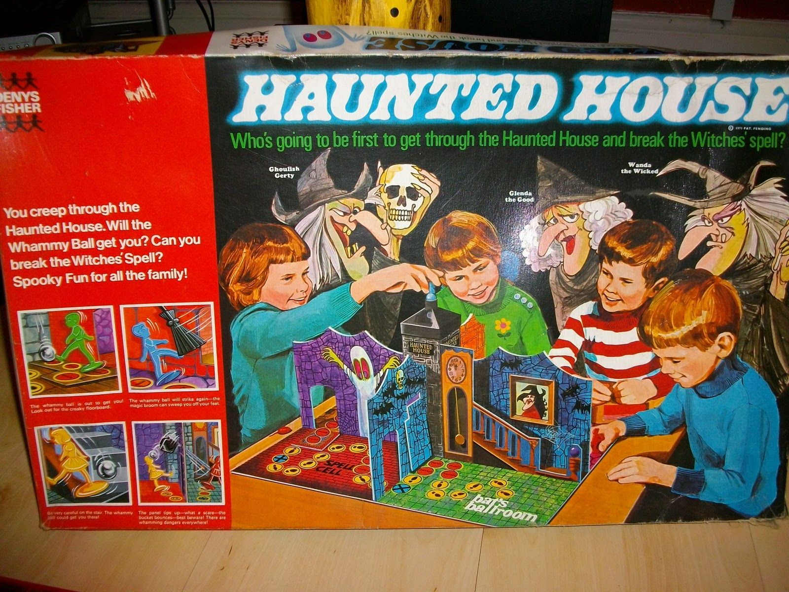 Haunted House Game. I Loved Loved Loved this game