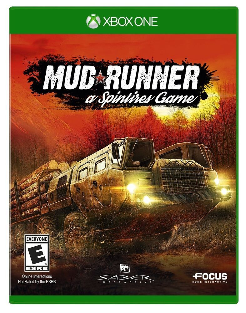 Spintires Mudrunner Xbox One Disc 57 46 End Date Saturday Feb 24 2018 21 11 31 Pst Buy It Now For Only 57 46 Buy It Now Mud Runner Xbox One Ps4 Games