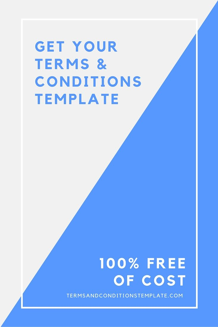 Terms And Conditions Template Generator For Your Website Get Your - Terms and conditions template generator