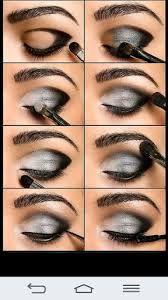 Resultado de imagen para maquillaje de ojos paso a paso