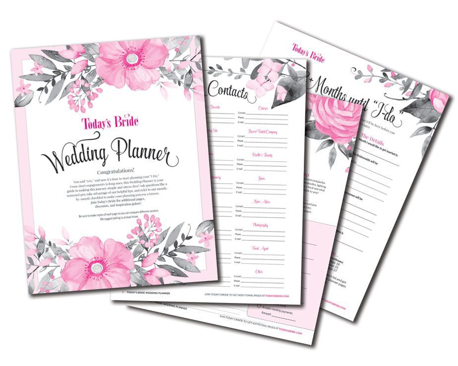 Today's Bride Printables The BEST free printable wedding