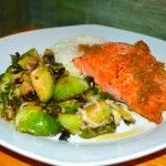 Pan Seared Salmon with Soy Ginger Sauce
