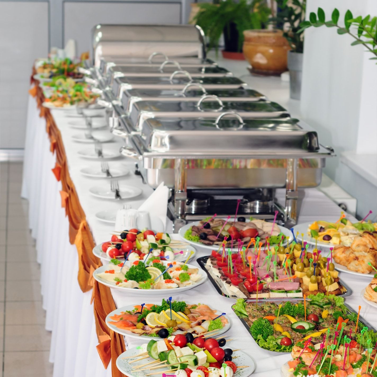 Best Food For Wedding Buffet: Chafing Dishes - Stainless In 2020