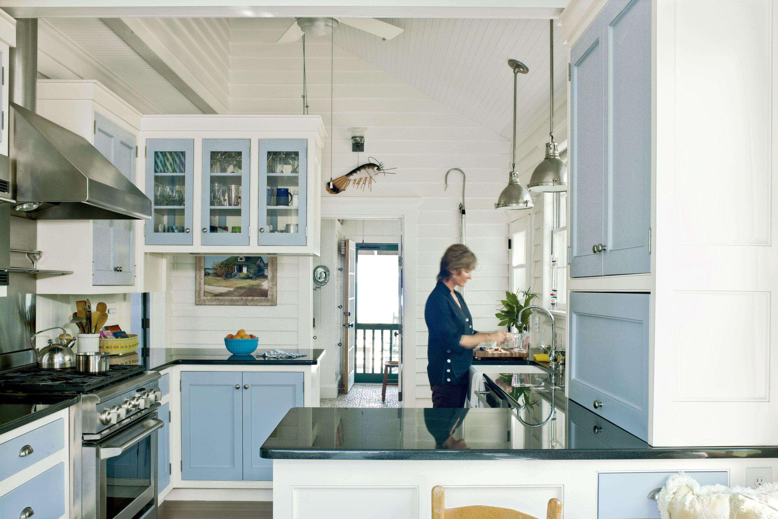 20 Beautiful Beach Cottages Beach Theme Kitchen Cottage Style