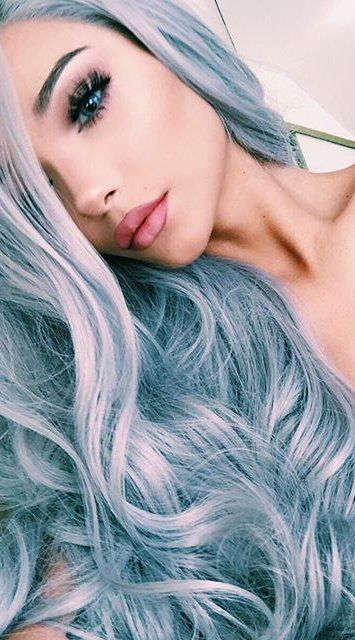 Silver Blue But Definitely Filtered So Probably Different Irl Still Ethereal