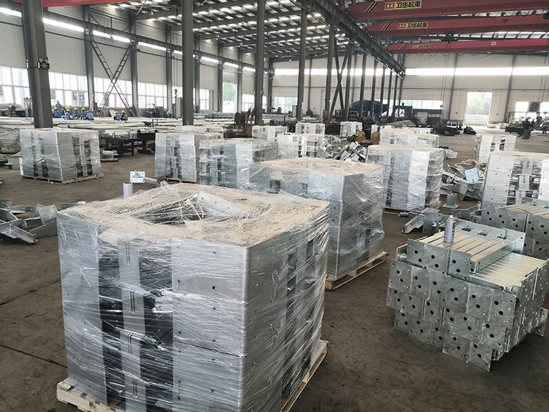 Galvanized Steel Structure For Romania Steel Structure Galvanized Steel Structure Design