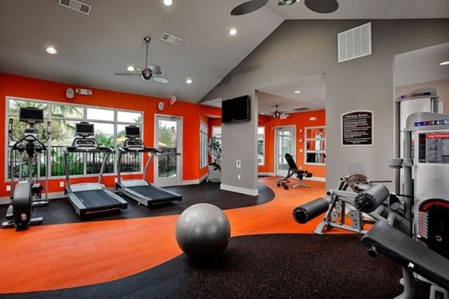 58 well equipped home gym design ideas digsdigs - Home Gym Design Ideas